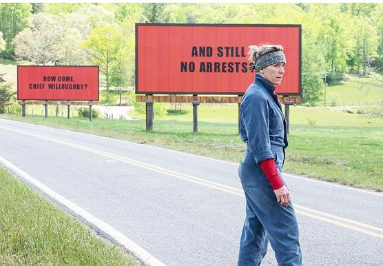 """Three Billboards"" Replaces Burma-Shave as Top Sequential Billboard Campaign"