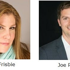 Anne Frisbie and Joe Prusz