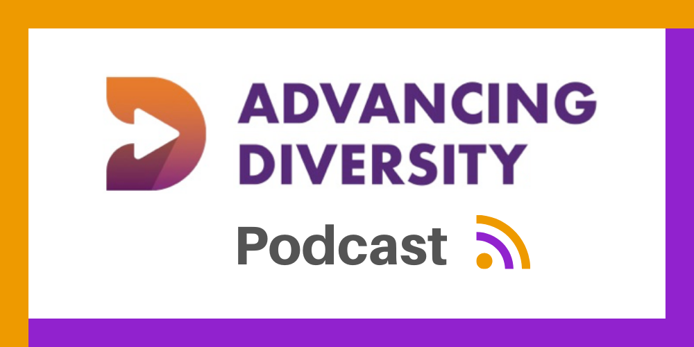Advancing Diversity Podcast logo