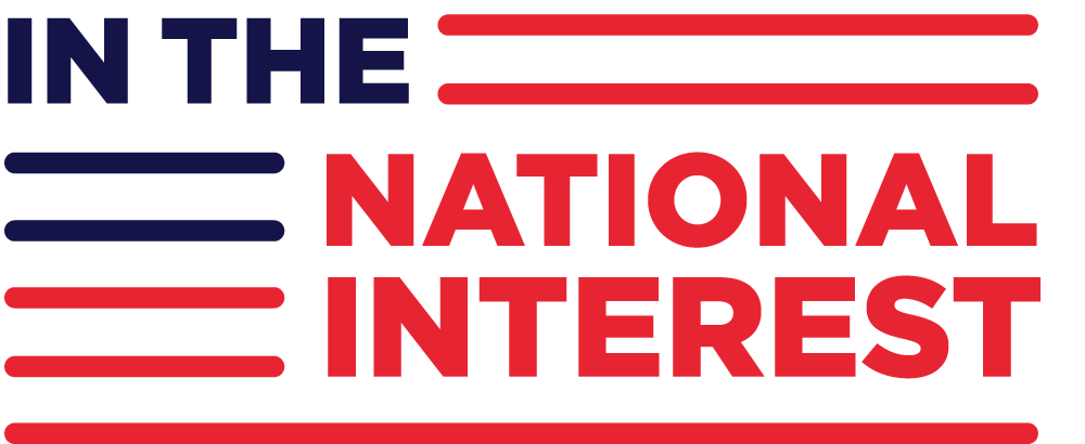 In the National Interest logo