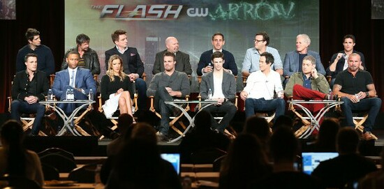 CW+Heroes+and+Villains+panel