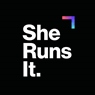 She Runs It: Women in the World Executive Class Experience logo
