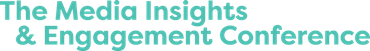 The Media Insights & Engagement Conference logo