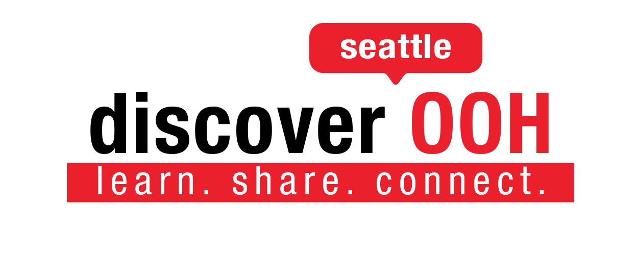 discoverOOH: Seattle logo