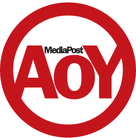 "Mediapost ""Agency of the Year""/""All-Stars"" logo"